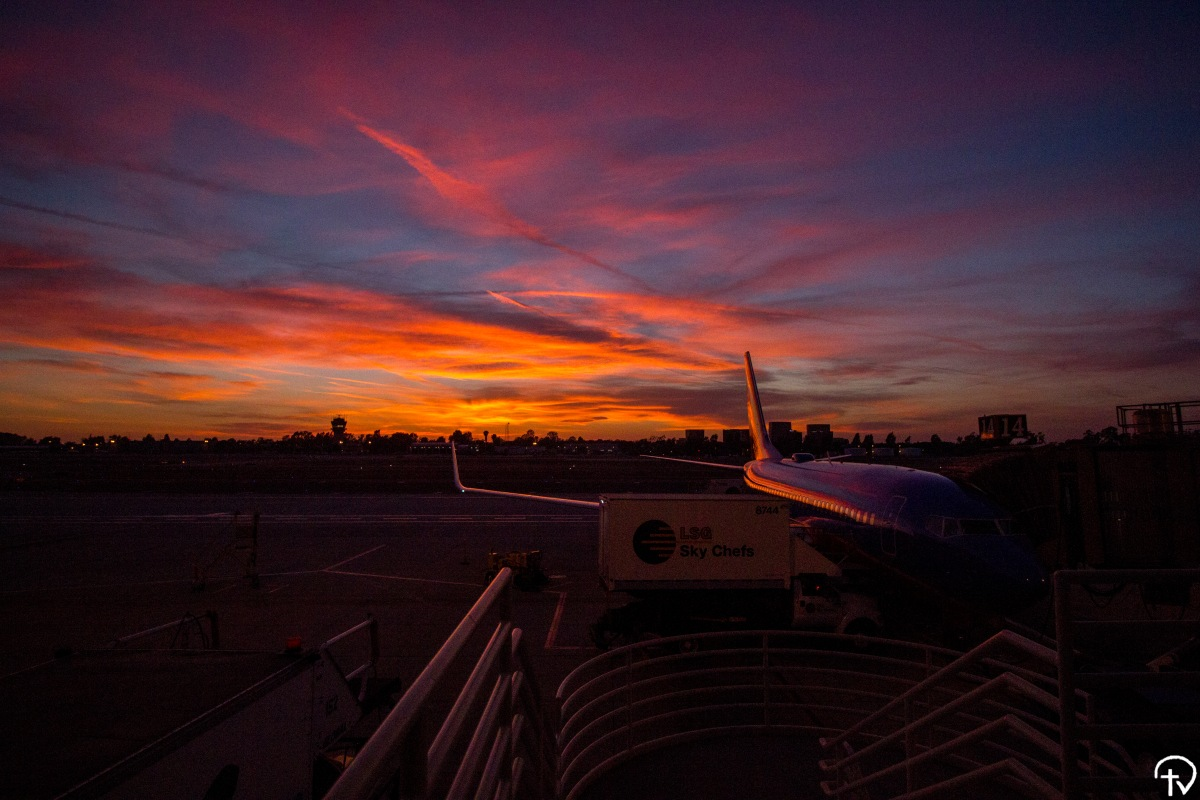 Airport Sunsets